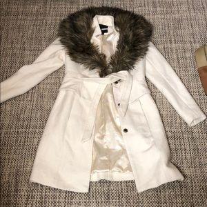 Anthropologie  fur coat